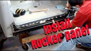 install rocker panel