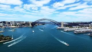 DJI Phantom 3 Drone Footage - SYDNEY AUSTRALIA