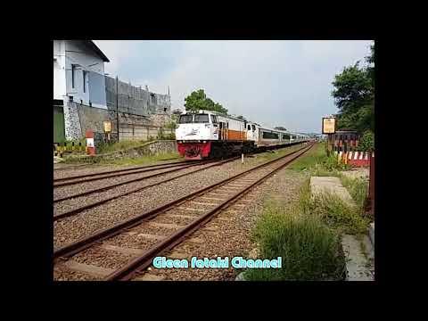 Kereta api padalarang PJL abadi Railway indonesian