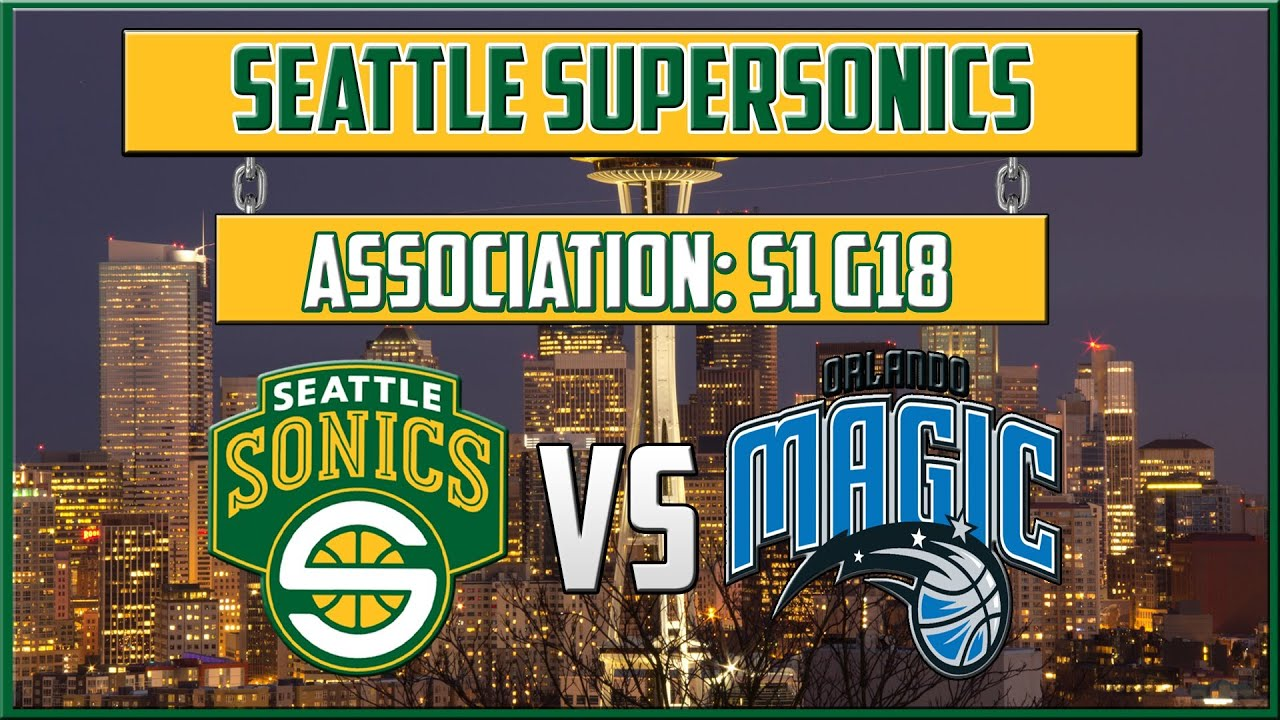 NBA 2K13 Seattle SuperSonics Association - (S1G18) - Pick and Rolls & Inside Scores (HD)
