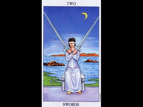 Tarot Card Lessons Made Easy: Highlighting The Two Of Swords