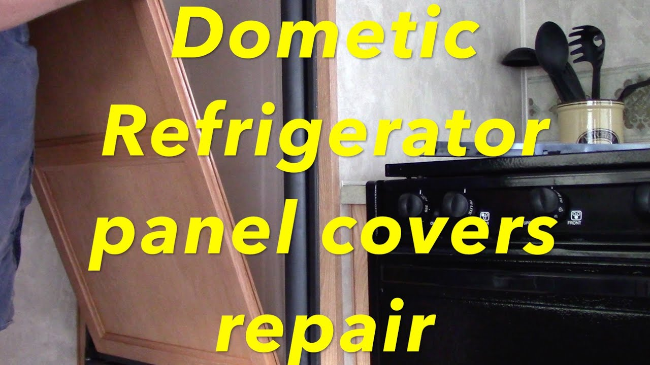 maxresdefault dometic refrigerator panel covers repair youtube Dometic Americana RM2852 at panicattacktreatment.co