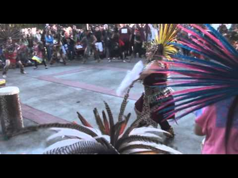 Aztec Performance - Idle No More - Sacramento (1-26-2013)