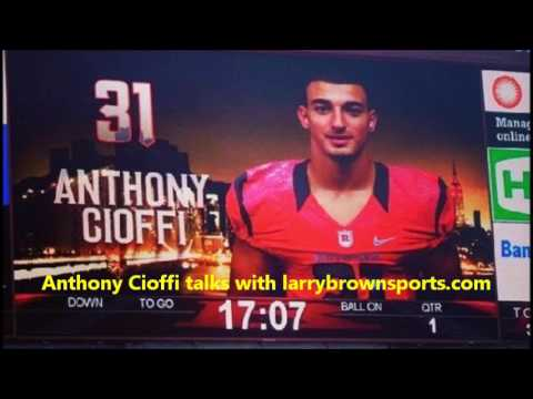 Rutgers DB Anthony Cioffi NFL Draft interview