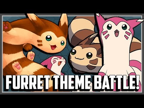 FURRET Pokemon Theme Battle! Ft Original151