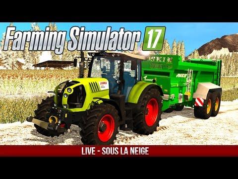 Farming Simulator 17 | OLD STREAM MAP | L'hiver approche !