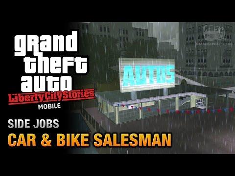 GTA Liberty City Stories Mobile - Car & Bike Salesman