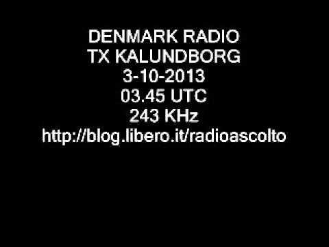 DENMARK RADIO KALUNDBORG 243 KHz
