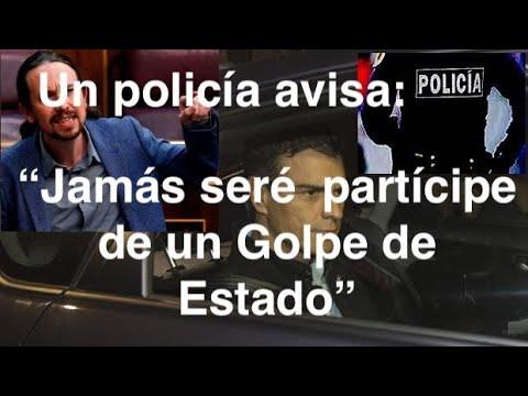 """¡SITUACIÓN CRÍTICA PARA LA DEMOCRACIA! Un policía avisa:""""Jamás seré participe de un golpe de Es"""