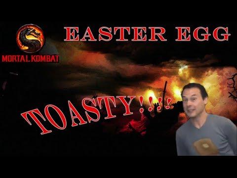 Mortal Kombat 9 Easter Egg (Dan Forden's TOASTY!!!!!)