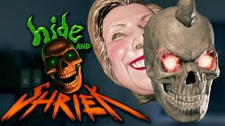 HIDE AND SHRIEK - 1v1 Horror Game (with Sinow)