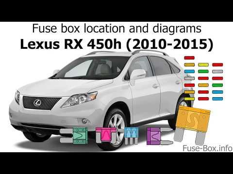 lexus rx wiring diagram fuse box location and diagrams lexus rx450h  2010 2015  youtube  fuse box location and diagrams lexus