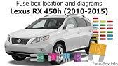 [DIAGRAM_5UK]  RX400h fuse - YouTube | Lexus 400h Fuse Box Location |  | YouTube