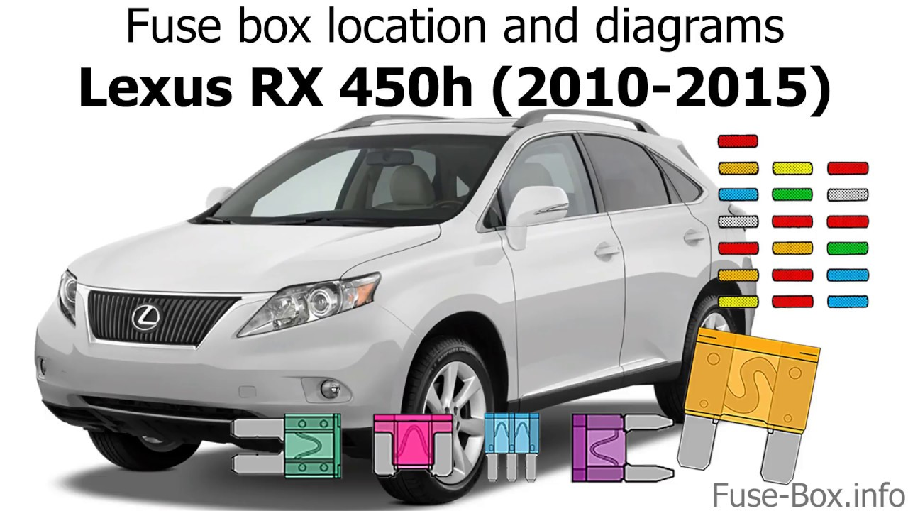 small resolution of fuse box location and diagrams lexus rx450h 2010 2015 youtube