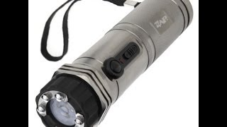 Zap Light (Review / Shock Test) - 1,000,000 Volt Stun Gun / Flashlight Combo
