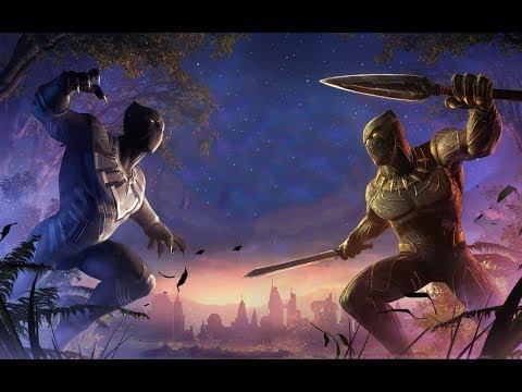 Black Panther Soundtrack Kendrick Lamar, SZA - All The Stars(Remix)(Lyrics)