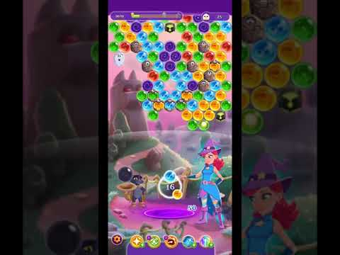 Bubble Witch 3 Saga Level 1326 Boosters