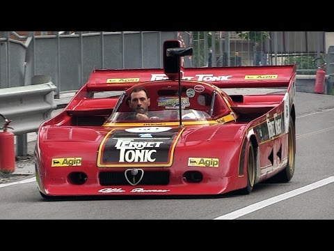 Alfa Romeo 33 SC 12 In Action - Flat-12 Engine GREAT Sound!!