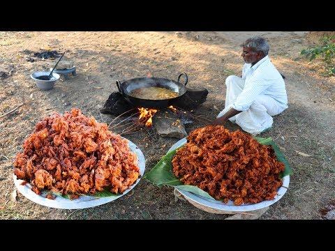 35 KG ONION PAKODA   Indian Snacks   Vengaya Pokoda prepared by Uncle   food fun village
