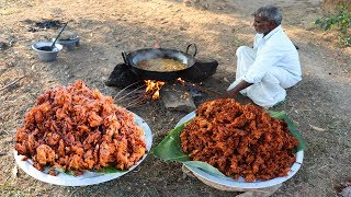 35 KG ONION PAKODA | Indian Snacks | Vengaya Pokoda prepared by Uncle | food fun village