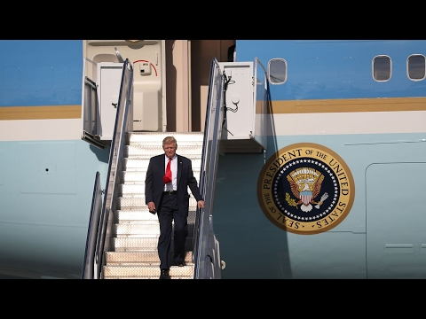 Trump starts presidential travel in Saudi Arabia
