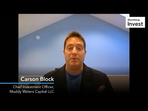Muddy Waters' Carson Block on Short Selling