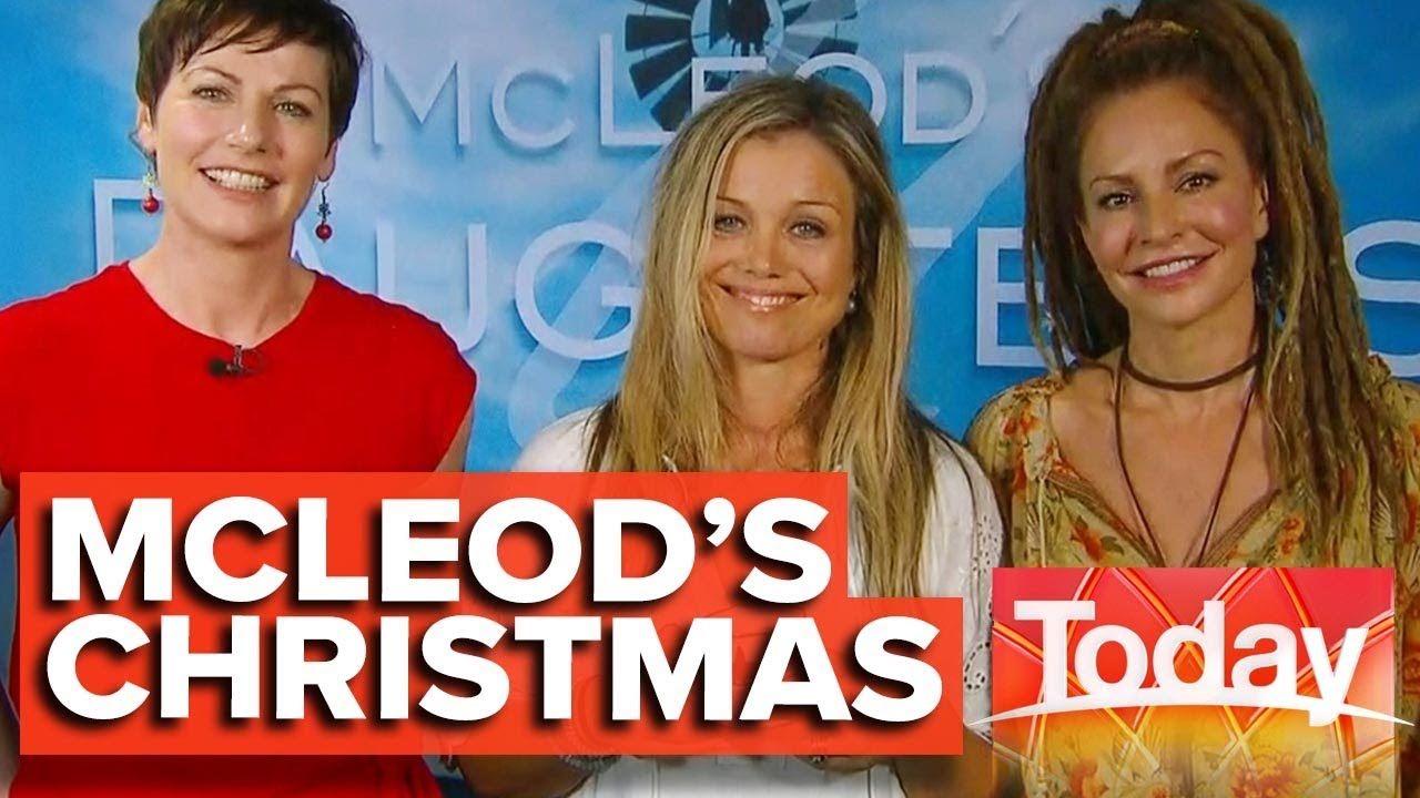 Download McLeod's Daughters cast reunite for Christmas event | Today Show Australia