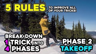 5 Rules to Improve All of your Tricks! - Break Down 1 Trick into 4 Phases - 2