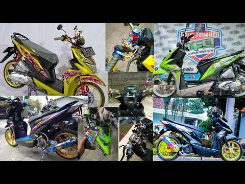 Beat Street Modifikasi Babylook Street Motovlog Youtube