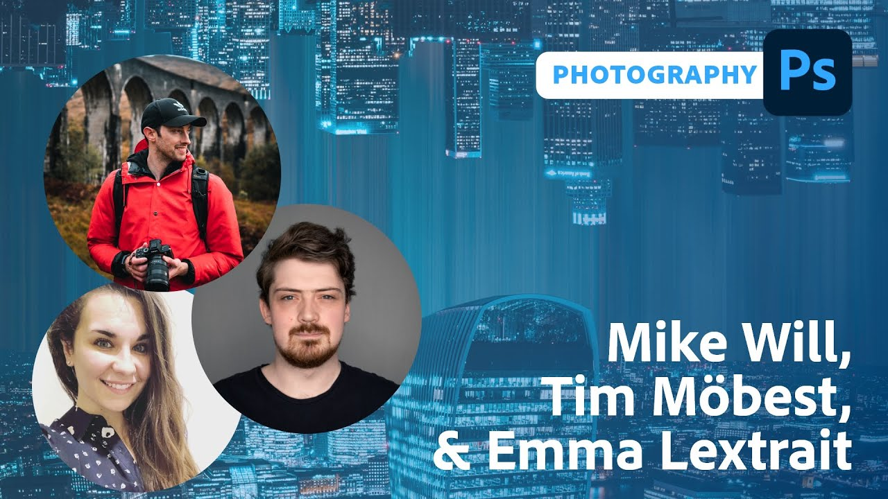 Photography Masterclass with Mike Will   Adobe Live