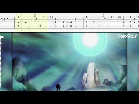 DB Super Genki Dama/Spirit Bomb theme Guitar Tab/Tutorial