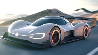 2018 Volkswagen ID R Pikes Peak Racecar Review : VWs first all-electric race car