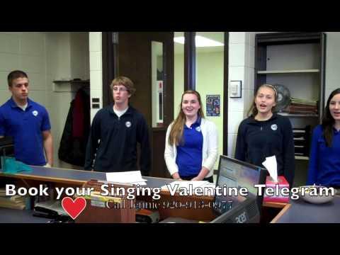 Singing Valentine Telegrams St. Mary's Springs
