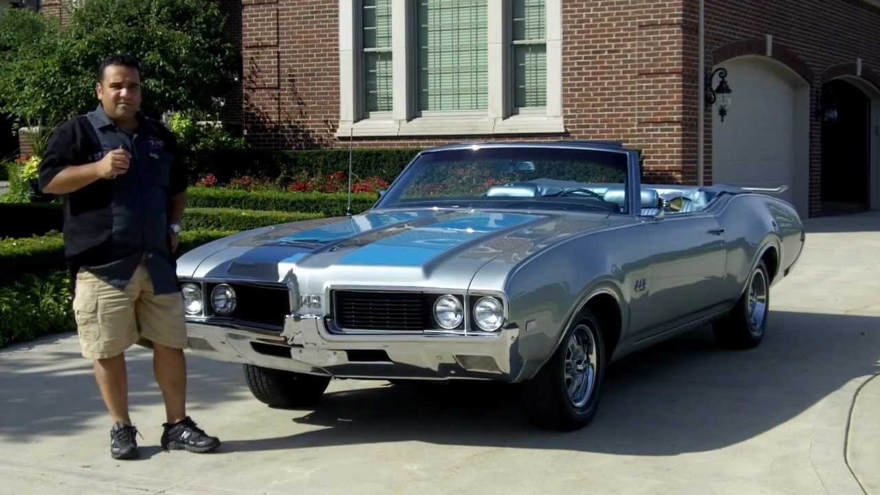 1969 Cutlass 442 Convertible Classic Muscle Car For Sale