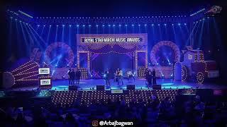 Qismat Punjabi Song Live B Praak Jaani | Royal Stag Mirchi Music Award