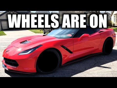 New Verona XO Wheels Installed On My Supercharged C7 Corvette