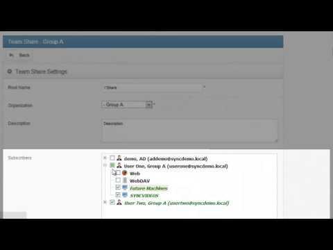 Par3.IT Cloud Services Team Share Administration