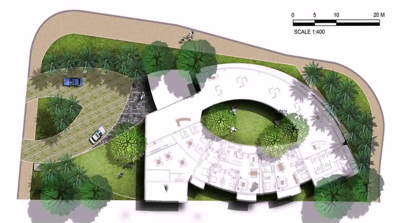 landscape design in autocad