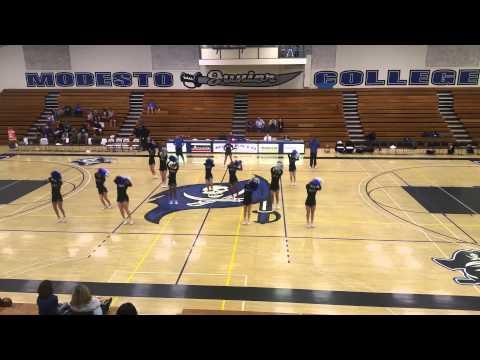 Modesto Junior College Cheer 2015