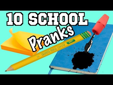 10 April Fools Day Pranks You Can Easily Get Friends With At School - HOW TO PRANK | Nextraker