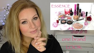 ESSENCE one brand Look Tutorial deutsch HD low budget Makeup