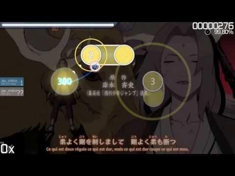 osu! Naruto Shippuden - Opening 13 - Niwaka Ame Nimo Makezu
