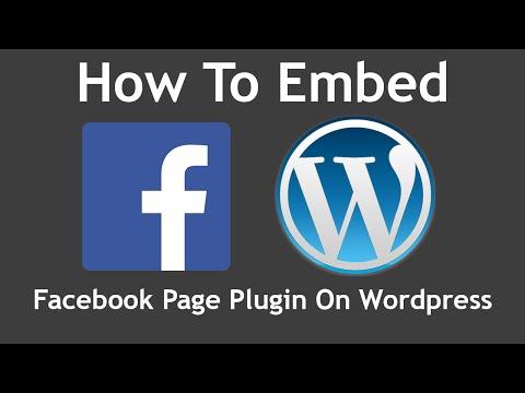 WordPress plugins facebook social