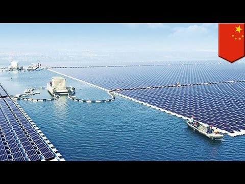 China solar panels: PRC is now home to the world's largest f
