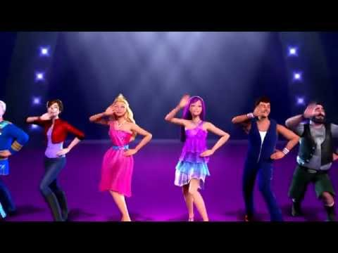 Barbie the princess and the popstar - Perfect day - Music video in Greek