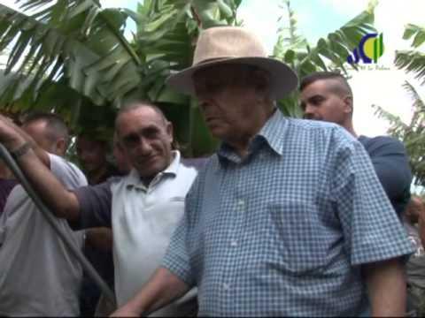 D. Rufino visita La Palma