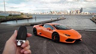 24hrs To Explore Seattle In A Lamborghini