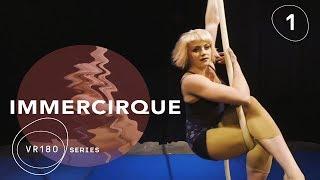 VR180 Up-Close & Personal | Cirque du Soleil BAZZAR Aerial Rope Artist | IMMERCIRQUE Episode 1 thumbnail