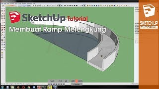 Video SketchUp Tutorial - Membuat Ramp Lengkung Tanpa Plugin download MP3, 3GP, MP4, WEBM, AVI, FLV Desember 2017