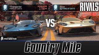 Need For Speed No Limits: Underground Rivals   Country Mile (Day 2)   Rival Tier   I BEAT GICCO!!!